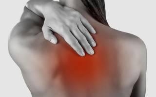 Почему болят лопатки на спине