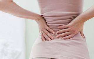 Боль внизу спины справа у женщин