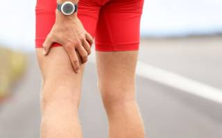 Болит мышца на ноге выше колена