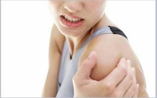 Деформирующий артроз плечевого сустава