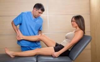 Гонартроз коленного сустава мануальная терапия