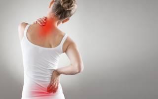 Дорсопатия шейно грудного отдела позвоночника