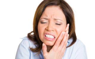 Защемление лицевого нерва