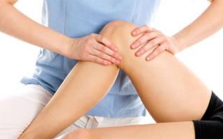 Боль и опухоль в коленном суставе