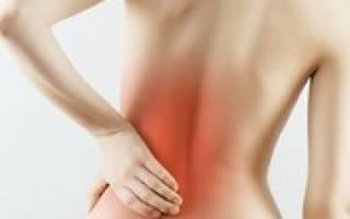 Боль в левом подреберье сзади со спины