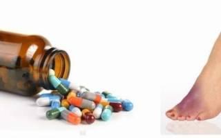 Таблетки от подагры эффективные