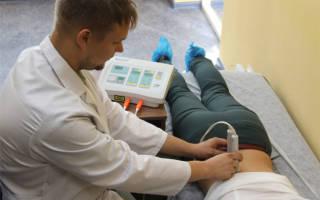 Лечение лазером позвоночника