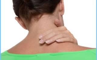 Головокружение и тошнота при шейном остеохондрозе лечение