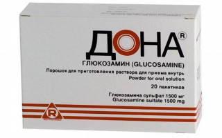 Препарат дона для суставов