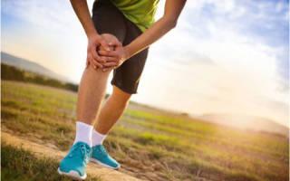 При беге болят колени