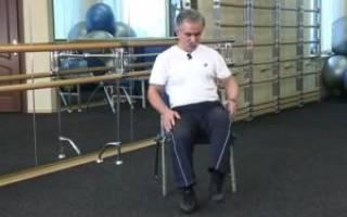 Гимнастика для коленных суставов доктора попова